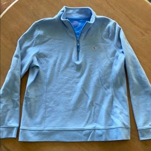 Vineyard Vines Ladies light weight quarter zip